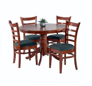 Mustang Dining Suite - 5 Piece Round