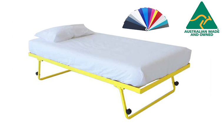 Trundle King single Bed Frame