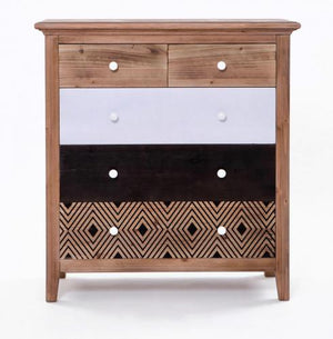 Cleo Tallboy - 5 Drawer
