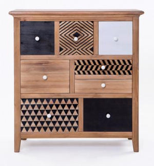 Cleo Tallboy - 8 Drawer
