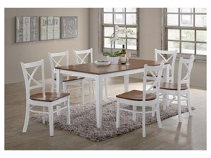 Crossback Dining Suite - 7 Piece