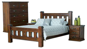 Fitzroy King Bed Frame