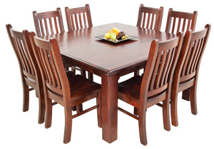 Fitzroy Square Dining Suite - 9 Piece