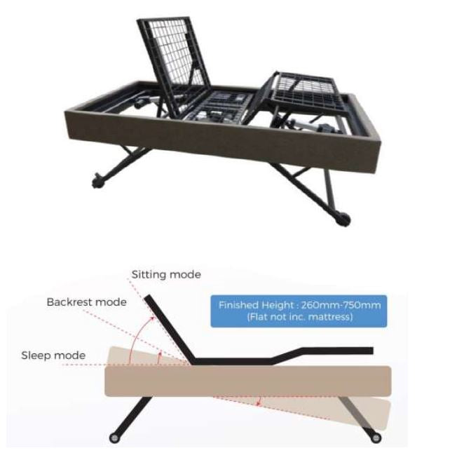 iFlex 430 Adjustable Bed