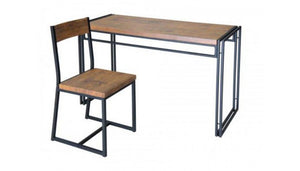Ironstone Desk and Chair - Small