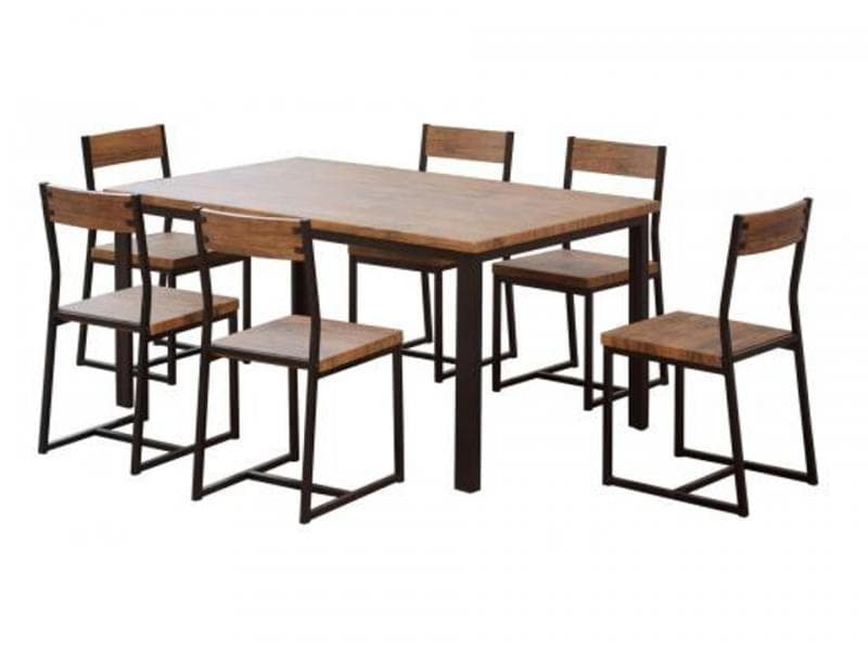 Ironstone Dining Suite - 7 Piece