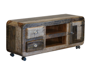 Mango Wood TV Unit