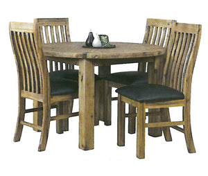 Stirling Dining Suite - 5 Piece (Round)