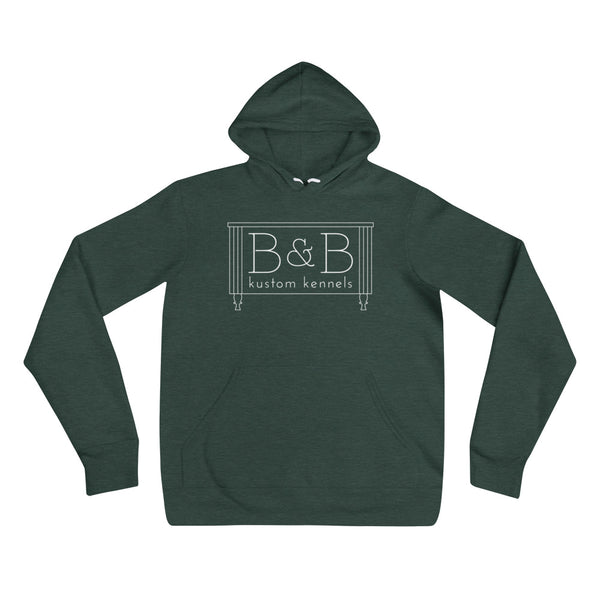 B&B Unisex Hooded Sweatshirt