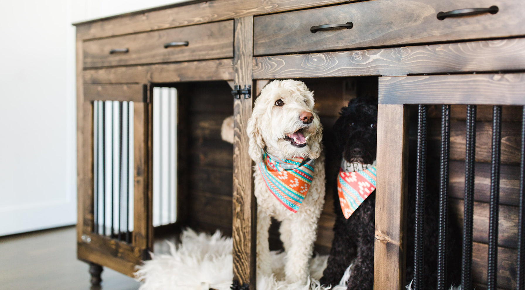 B&B Kustom Kennels | Luxury Wooden Dog Crate Furniture