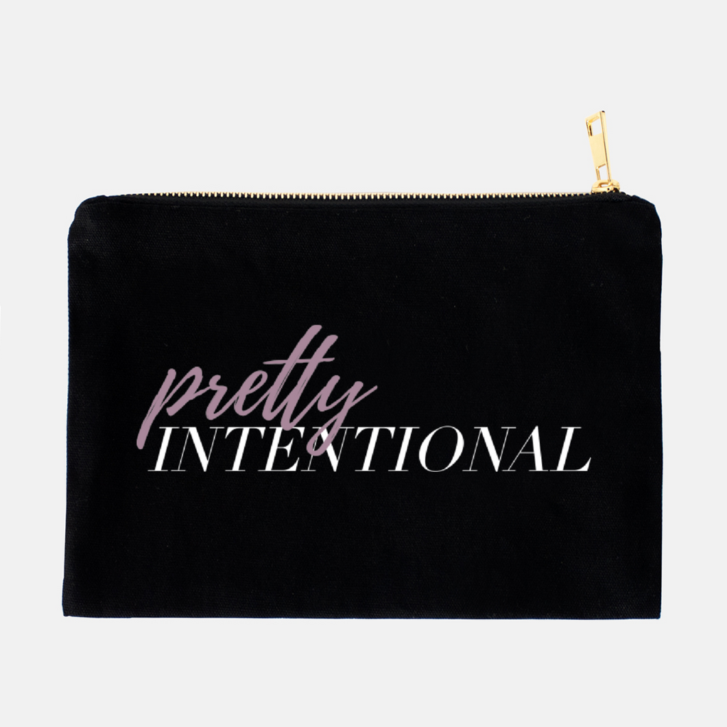 Pretty Intentional Makeup Bag
