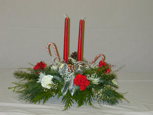 XC 1150 two candle centrepiece