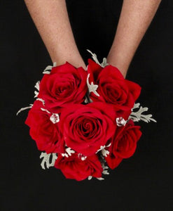GW 7160 Clutch bouquet for grad or wedding