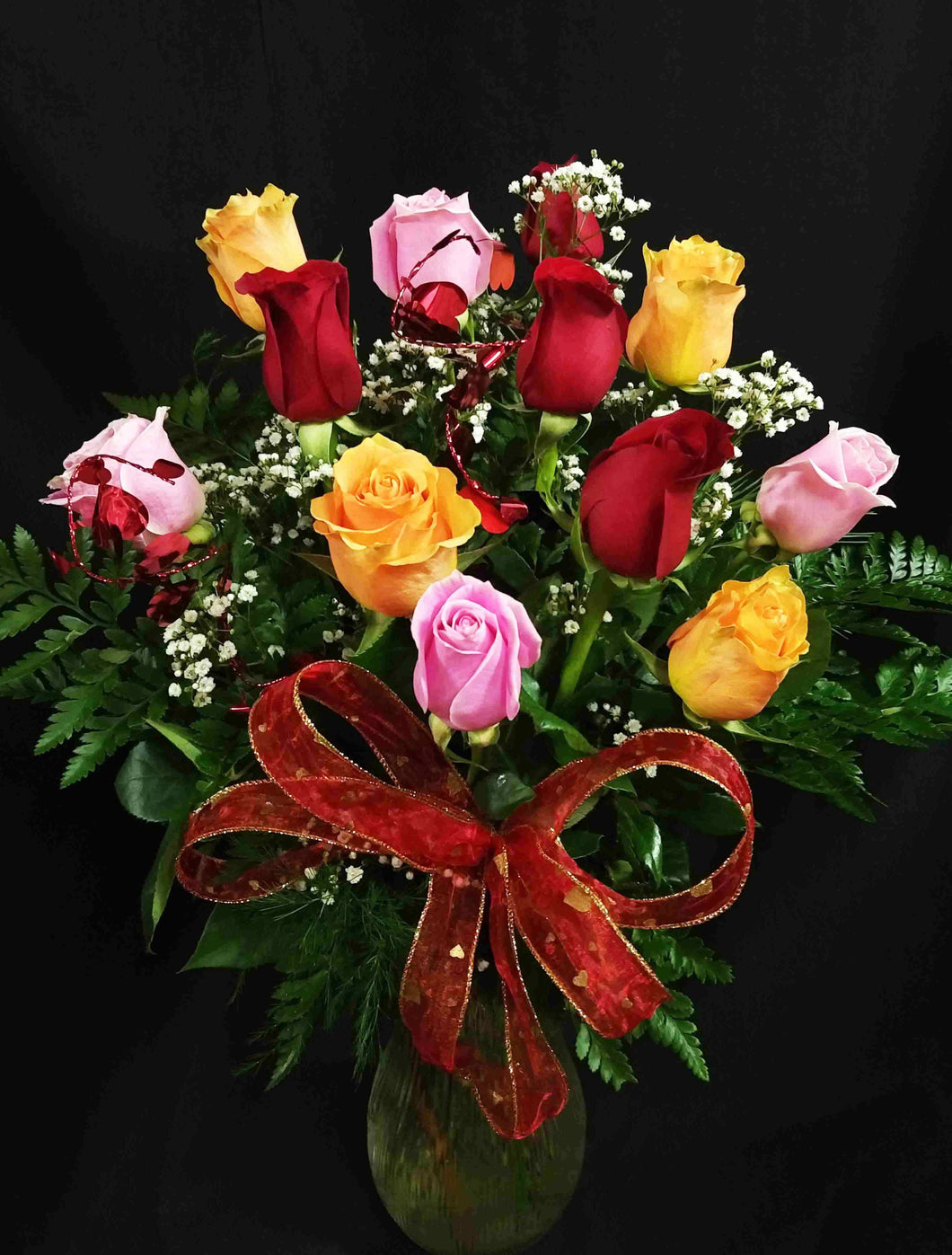 EA 1225 Tasteful rose mix bouquet