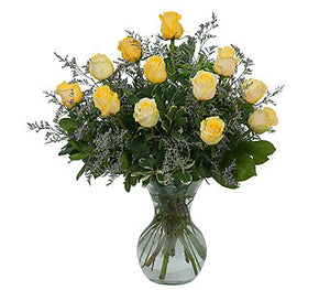 EA 1231 Sunrise pretty yellow roses