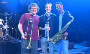 JOHN FOGERTY HORNS: Steve Robinson-Ethan Chilton-Nathan Collins. See their stories here.