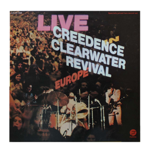 Creedence Clearwater Revival - Live In Europe • CD