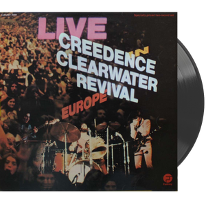 Creedence Clearwater Revival - Live In Europe • Double Vinyl LP