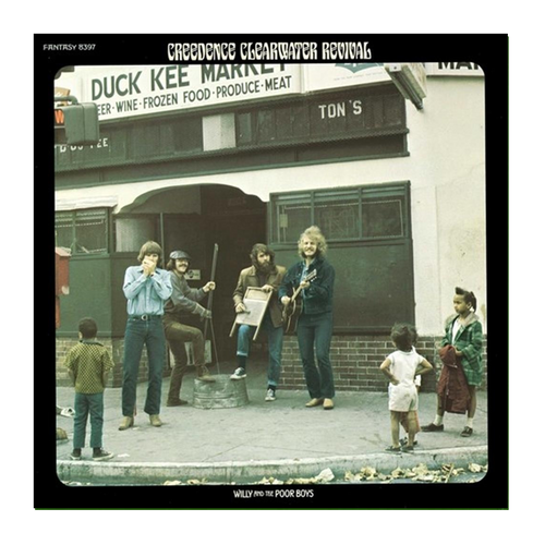 Creedence Clearwater Revival - Willy And The Poor Boys • CD (Remastered)