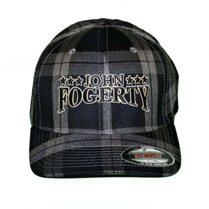John Fogerty Black Plaid • Cap