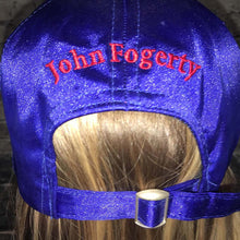 John Fogerty Centerfield Blue Satin • Cap