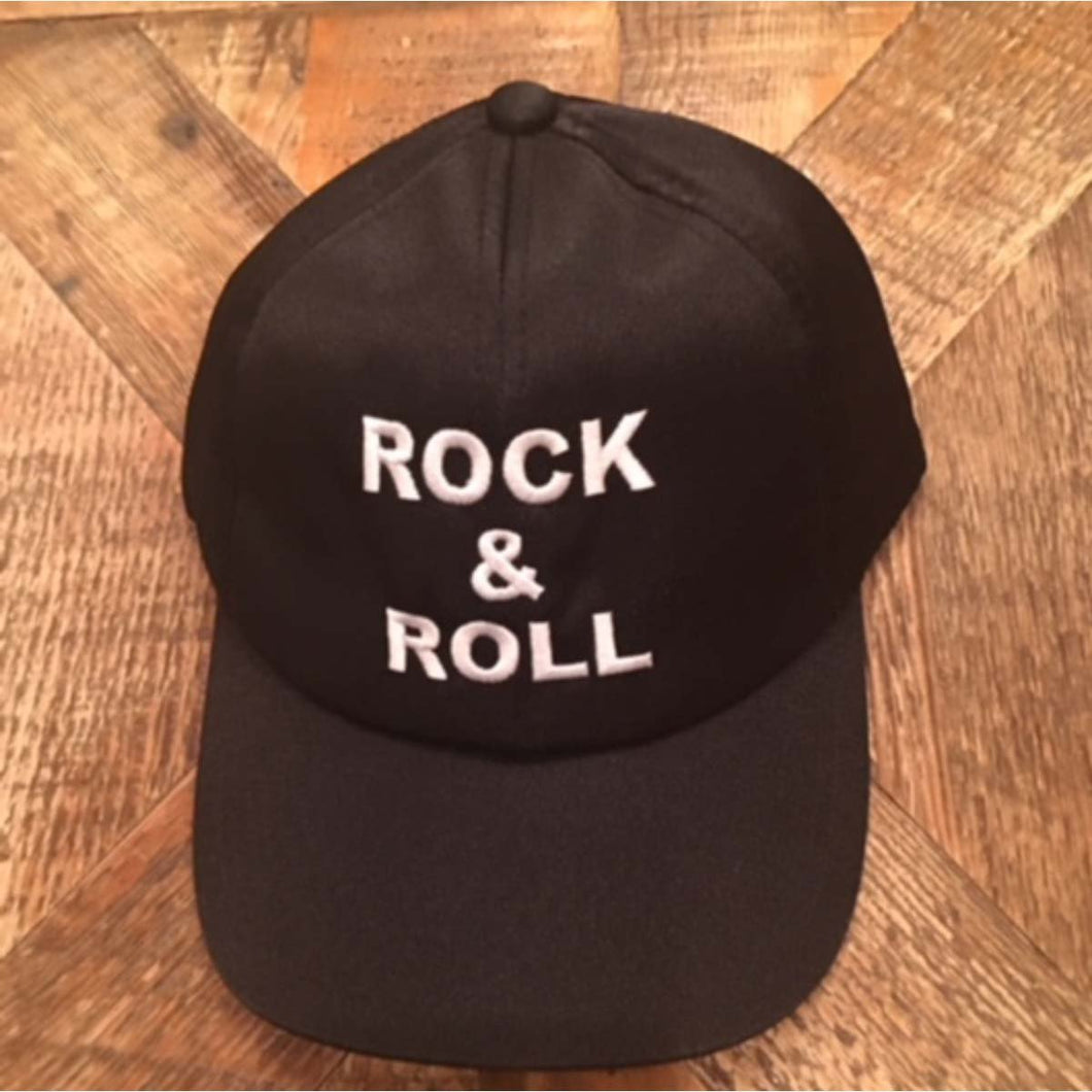 John Fogerty Rock & Roll Black Satin • Cap