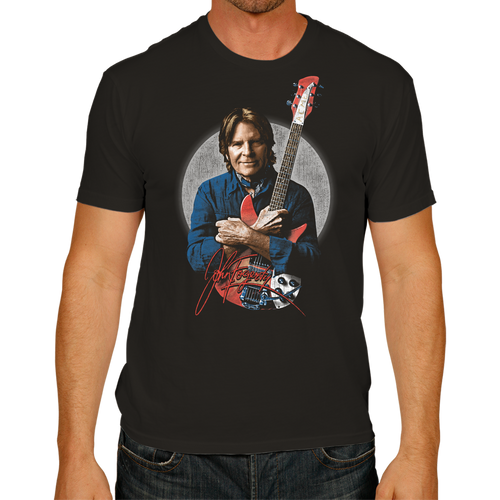 Fogerty Portrait wSignature • Tee