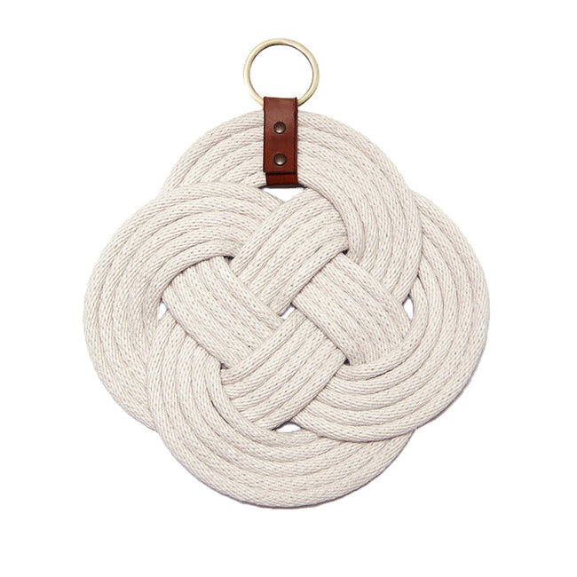 Endless knot wall hanging
