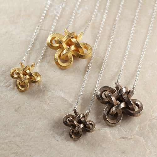 Steel Knot Necklaces