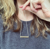 Into The Wild necklace - gold and silver