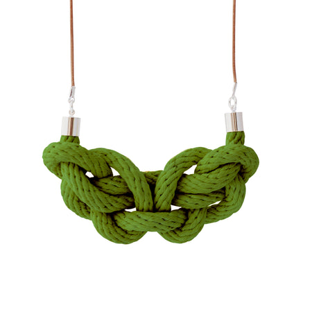 Charmed rope necklace - various colours