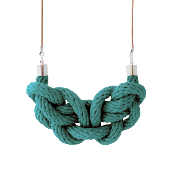 Paris rope necklace - various colours