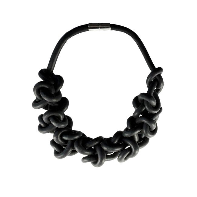 Rubber neckpieces, black