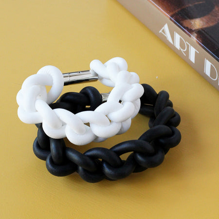 Shackle cuff bracelets - various colours