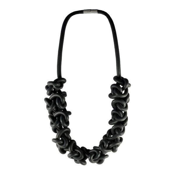 Black neckpieces