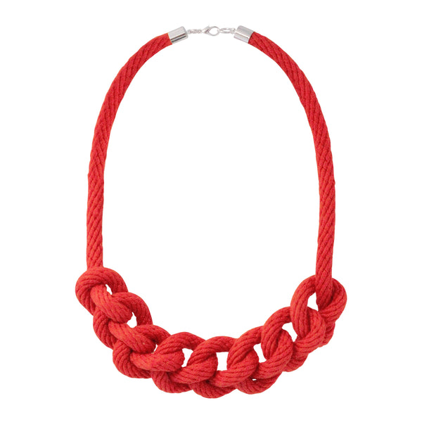Short rope necklace - various colours