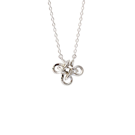 Oslo nautical knot necklace