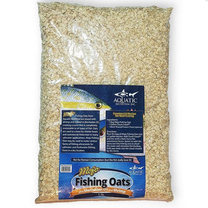 Aquatic Nutrition Fishing Oats with Menhaden Oil and Shrimp 9.1 lb - The BallyHoop