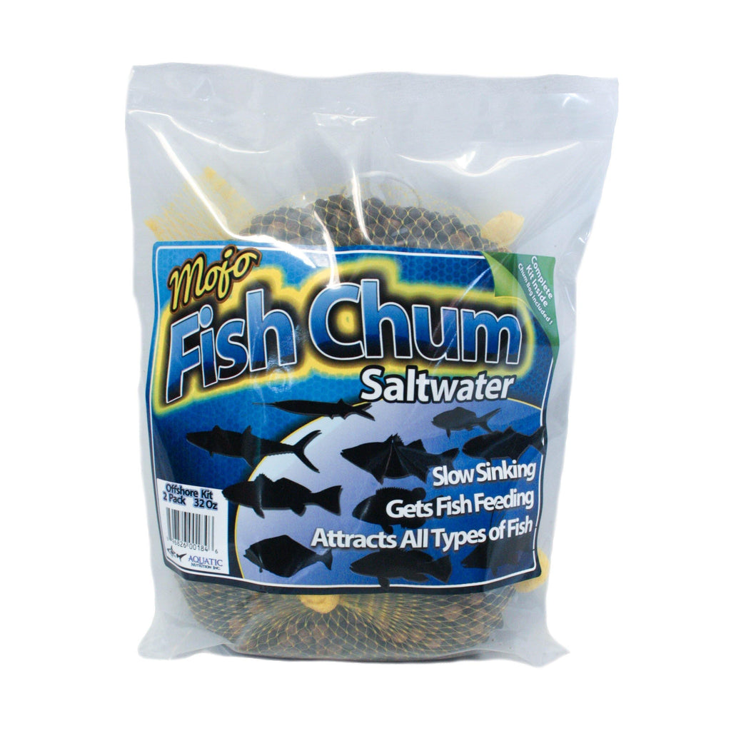 Aquatic Nutrition MoJo Chum Offshore Fishing Chum - 2lb. Bag (2 1lb. Packs) - The BallyHoop