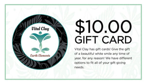 Vital Clay LLC Gift Card $10.00 USD Vital Clay Gift Cards