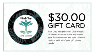 Vital Clay LLC Gift Card $30.00 USD Vital Clay Gift Cards