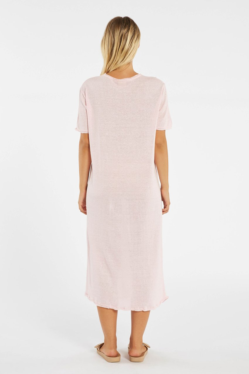 Cove Dress ~ Powder Pink