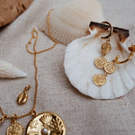 Cowrie Shell Necklace ~ (18K Gold Vermeil)