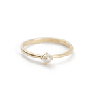 Moon Tide Pearl Ring ~ (9K GOLD)