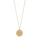 Traveller Coin Necklace ~ (18K Gold Vermeil)