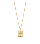 True North Coin Necklace ~ (18K Gold Vermeil)
