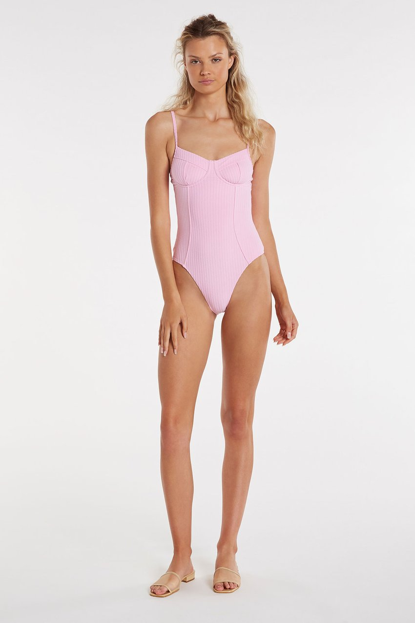 Fever Onepiece ~ Pink Towelling