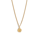 Lost Treasure Coin Necklace ~ (18K Gold Vermeil)