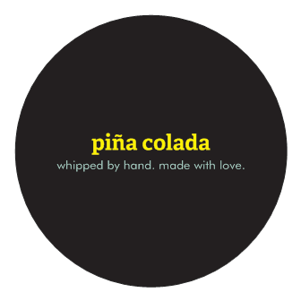body butter - pina colada