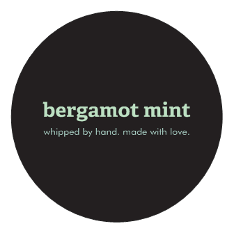 body butter - bergamot mint